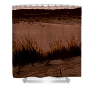 Sunset In The Dunes Shower Curtain