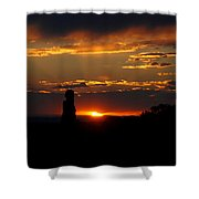 Sunset In Utah Shower Curtain