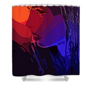 Sunset In Your Face Shower Curtain