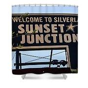 Sunset Junction Shower Curtain