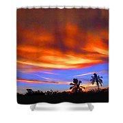 Sunset Key Largo Filtered Shower Curtain