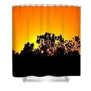 Sunset Landscape Shower Curtain