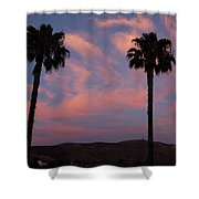 Sunset Landscape Xi Shower Curtain