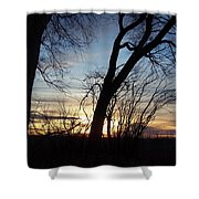 Idaho Sunset 1 Shower Curtain