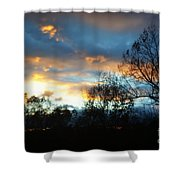 Sunset - Late Fall Shower Curtain
