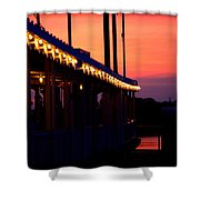 Sunset Lights  Shower Curtain
