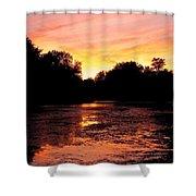 Sunset Near Rosemere - Qc Shower Curtain