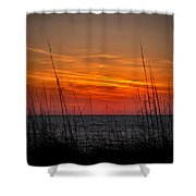 Sunset Number One Shower Curtain