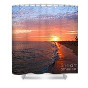 Sunset On Balboa Shower Curtain