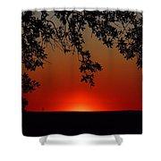 Sunset On Jekyll Island Shower Curtain