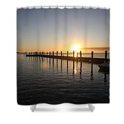 Sunset On Key Largo Shower Curtain