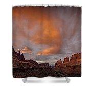 Sunset On Park Avenue Shower Curtain