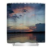 Sunset On The Amazon 3 Shower Curtain