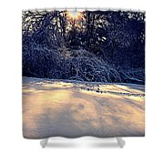 Sunset On The Briar Patch Shower Curtain
