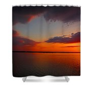 Sunset On The Chesapeake Shower Curtain