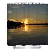 Sunset On The Zambezi 2 Shower Curtain