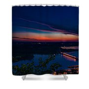 Sunset Over Alma Shower Curtain