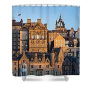 Sunset Over Edinburgh Shower Curtain