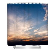 Sunset Over Maine Shower Curtain