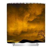 Sunset Over Manitou Springs Colorado Shower Curtain