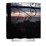 Sunset Over Puerto Vallarta Shower Curtain