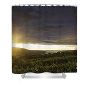 Sunset Over Skaneateles Shower Curtain