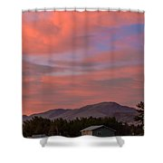 Sunset Over Squaw Butte Shower Curtain