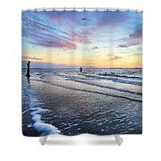 Sunset Paradise Jekyll Island  Shower Curtain