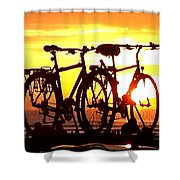 Sunset Ride Shower Curtain