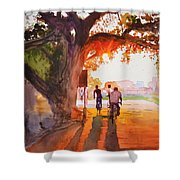 Sunset Riders Shower Curtain