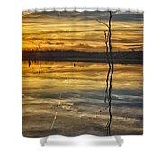 Sunset Riverlands West Alton Mo Dsc03317 Shower Curtain