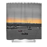 Sunset Romance Shower Curtain