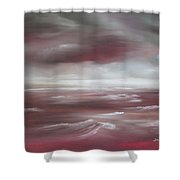 Sunset Sea Shower Curtain