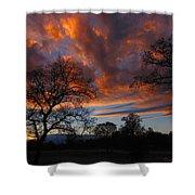 Sunset September 24 2013 Shower Curtain