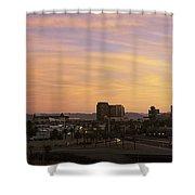 Sunset Skyline Phoenix Az Usa Shower Curtain