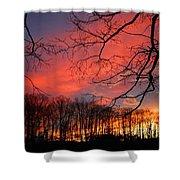 Sunset Spectacular Shower Curtain