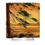 Sunset Splendor Shower Curtain