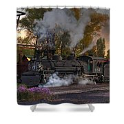 Sunset Steam Shower Curtain