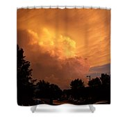 Sunset Storm Shower Curtain