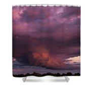 Sunset Storm Shower Curtain