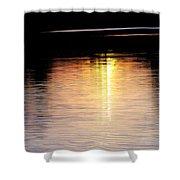 Sunset Streaks Shower Curtain