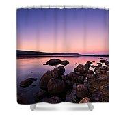 Sunset Sunrise  Shower Curtain