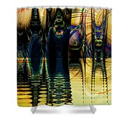 Sunset Surreal Shower Curtain