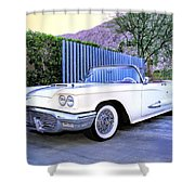Sunset Thunderbird 2 Palm Springs Shower Curtain