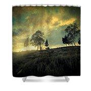 Sunset Trip II Shower Curtain