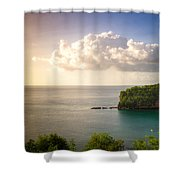 Sunset Twilight Shower Curtain