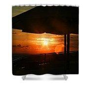 Sunset Under The Umbrella By Diana Sainz Shower Curtain