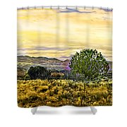 Sunset Verde Valley Thousand Trails Shower Curtain