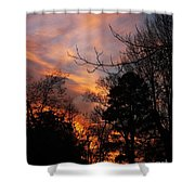 Sunset View From The Path Shower Curtain