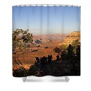 Sunset Vigil Grand Canyon Shower Curtain